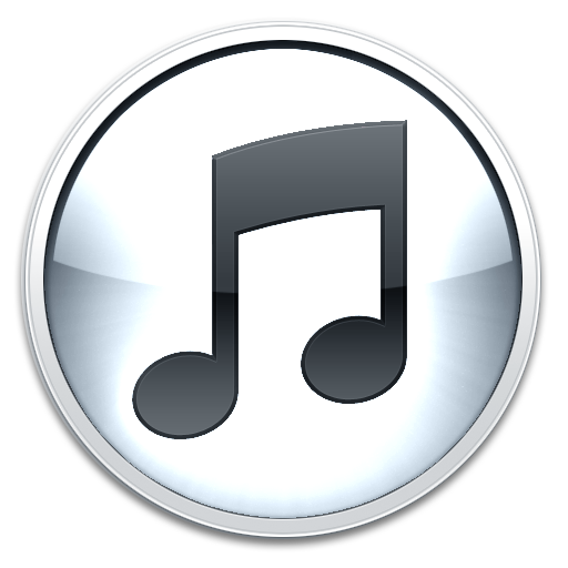Itunes Logo White